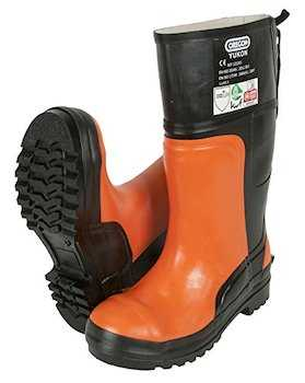 Chainsaw Protective Rubber Safety Boot