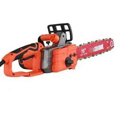 """Electric Chainsaw 2350W Garden Tools Corded Electric Chainsaw, 40cm (16"""") Oregon Bar and Chain, Automatic Chain Brake 3"""